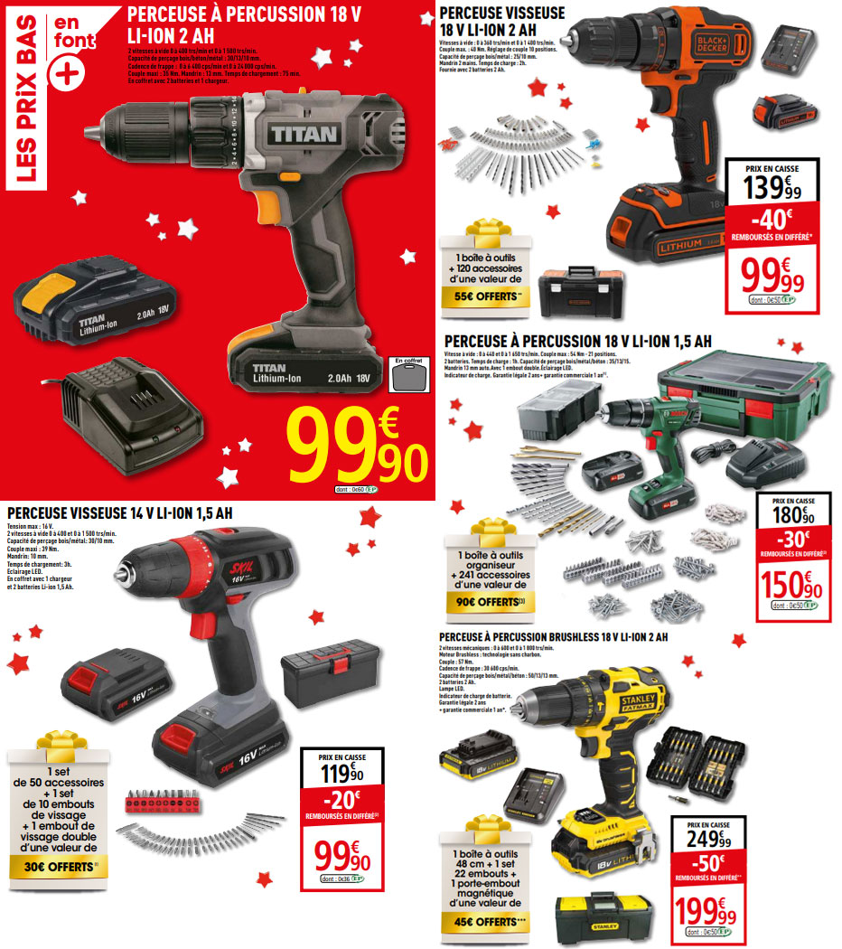 Catalogue Brico Depot Des Arrivages Special Noel
