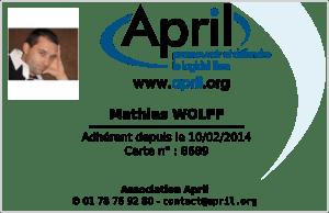 april : adherent