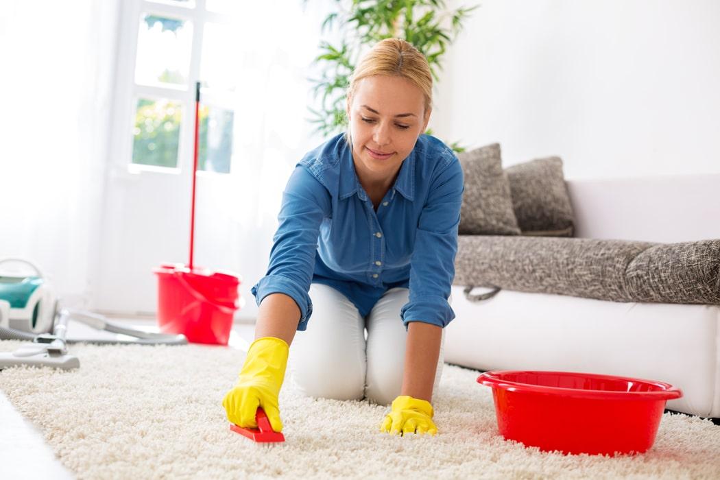 comment nettoyer un tapis naturellement