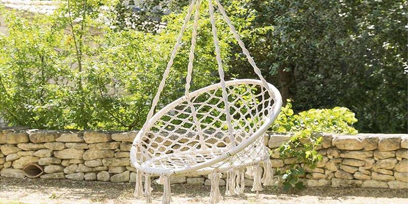 chaise suspendu salon de jardin
