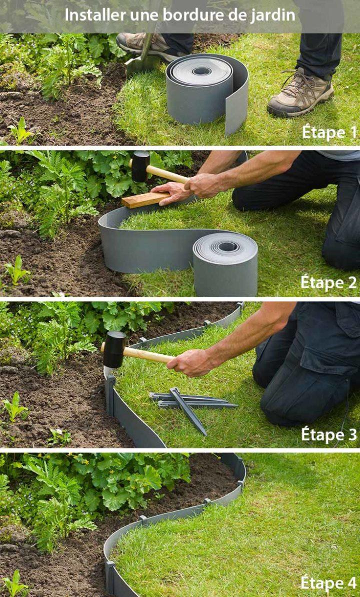 comment amenager une bordure de jardin