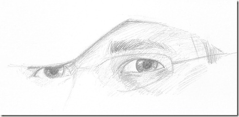 dessin correction yeux roy