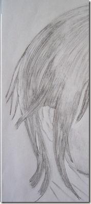 dessin pascal cheveux