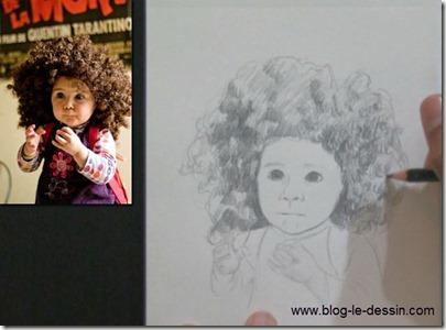 apprendre a dessiner les cheveux
