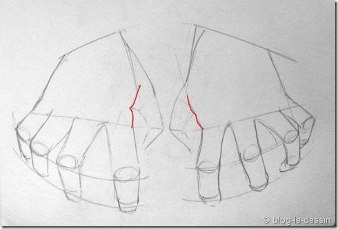 Connaissez vous ces tapes pour apprendre dessiner une main - Dessin de la main ...