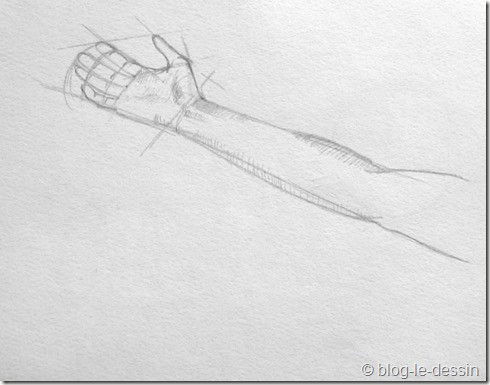 dessiner une main 4