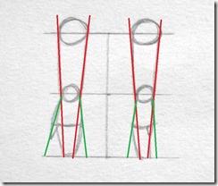 proportions avant bras contours et mains