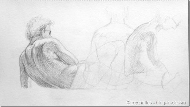 Pourquoi apprendre dessiner une personne sur le vif blog le dessin - Comment rendre un homme heureux au lit ...