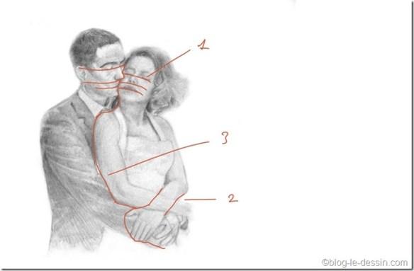 dessin couple