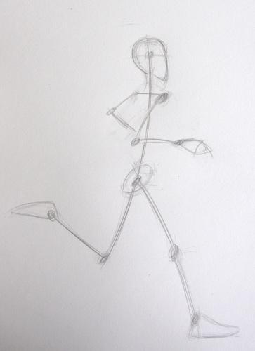 Article invit sur les traces d 39 un coureur pied l 39 art de saisir le mouvement en dessin - Coureur dessin ...