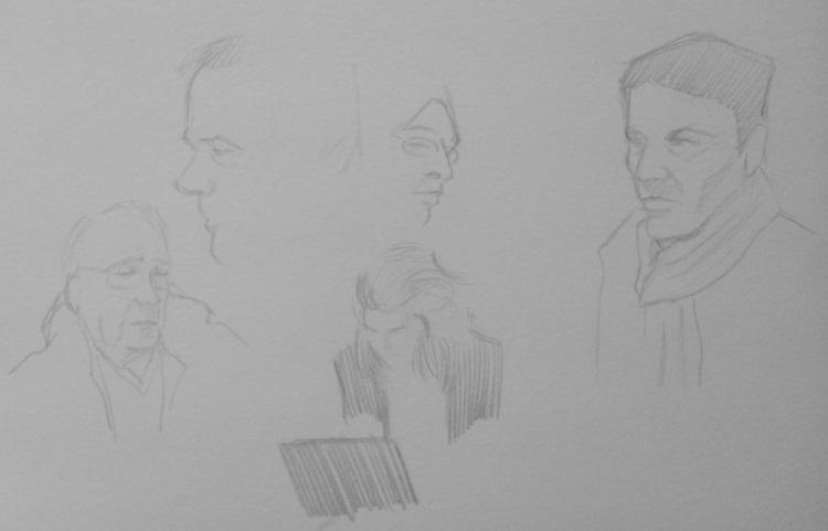 apprendre à dessiner un visage dans les cafés