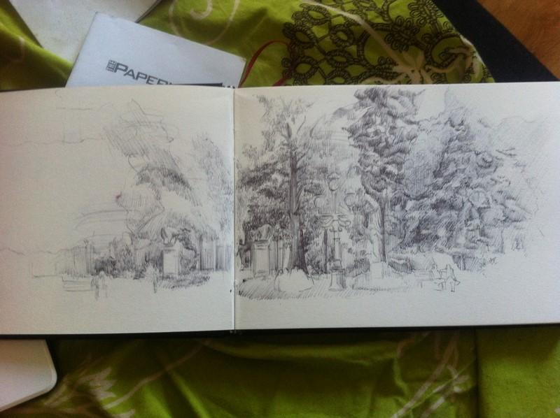 apprendre à dessiner un paysage