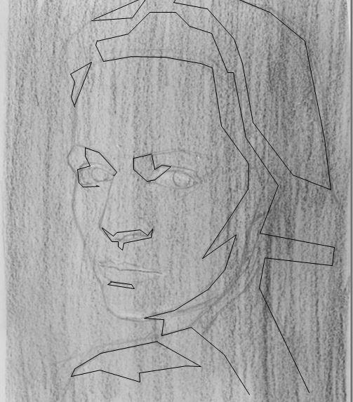 dessiner ombres visage