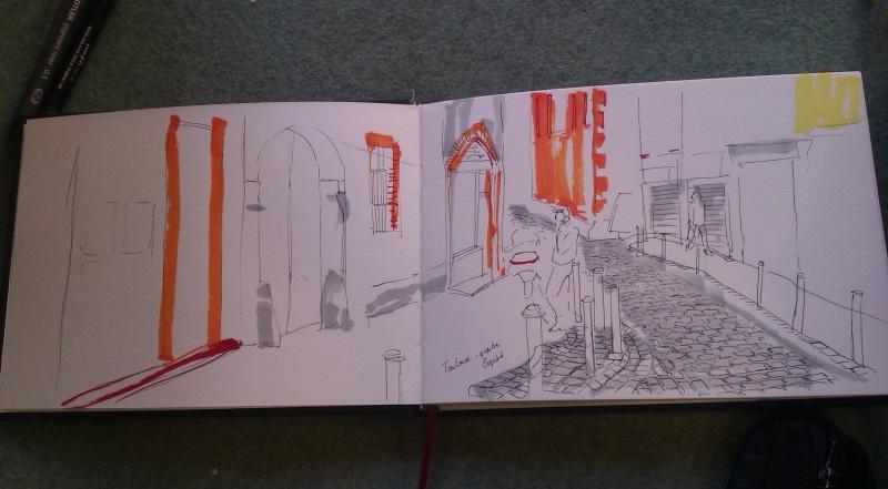 dessiner Toulouse