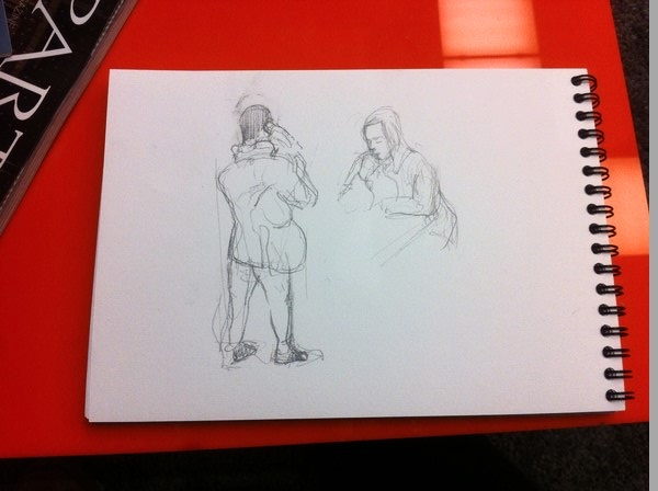 apprendre à dessiner sur le vif en utilisant le trait en signature
