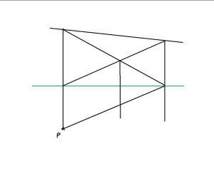 dessiner une perspective sans point de fuite étape 4