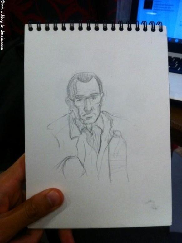 Dessiner un portrait comme un astigmate