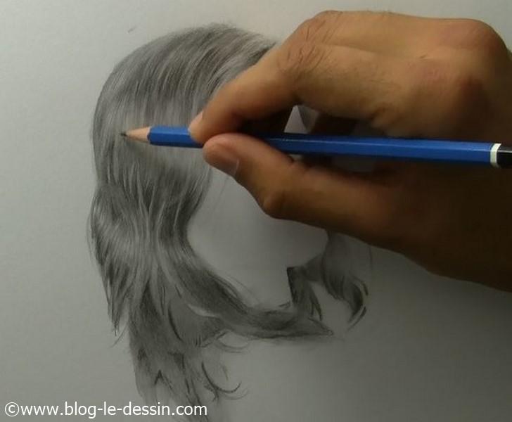 apprendre a dessiner des cheveux blog le dessin. Black Bedroom Furniture Sets. Home Design Ideas