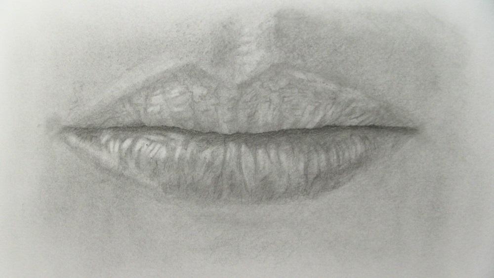 Les petites étapes simples pour faire des lèvres en dessin
