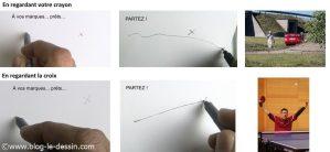apprendre a dessiner facile une ligne en un coup