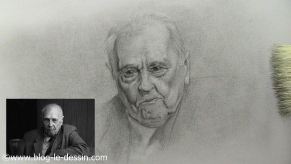 comment dessiner un vieil homme apres utilisation crayon perfection