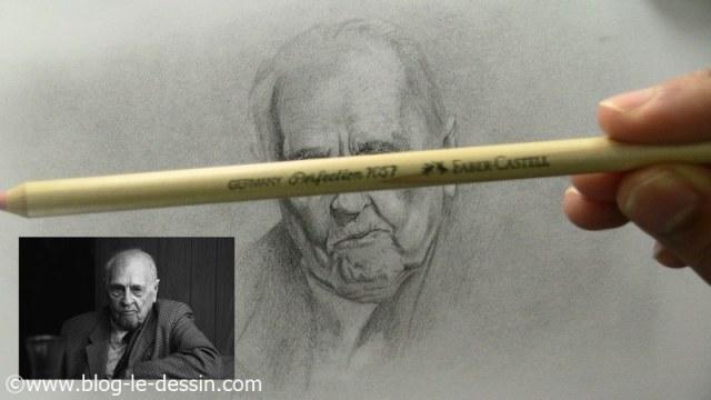 comment dessiner un vieil homme utiliser le crayon perfection