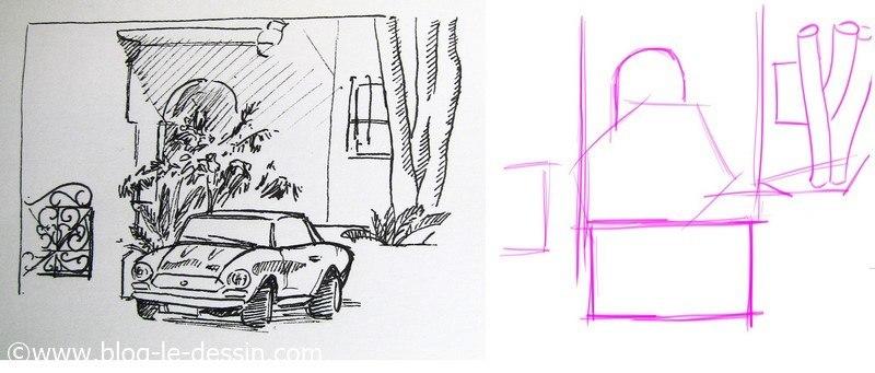 formes simples dessin sur le vif