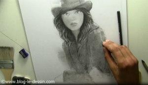 tutoriel dessiner visage fille manche lumiere