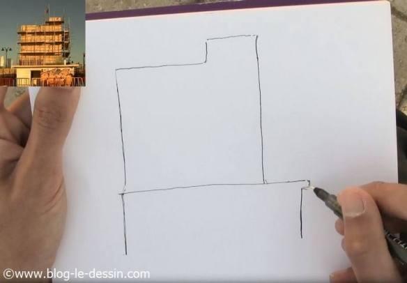 dessiner une architecture facile