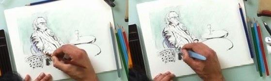 etapes dessin aquarelle facile 3