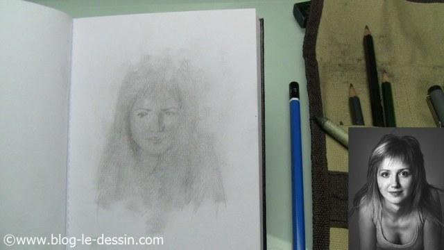 mini-portrait ebauche ressemblance