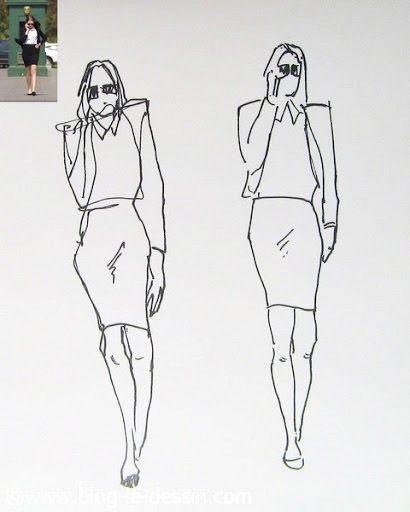 rendre une posture dynamique en dessin