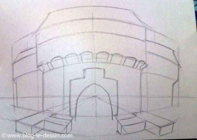 apprendre a dessiner perspective mise en relief