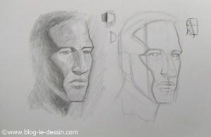 Ou ajouter du contraste pour esquisser et créer du relief dans les ombres du portrait