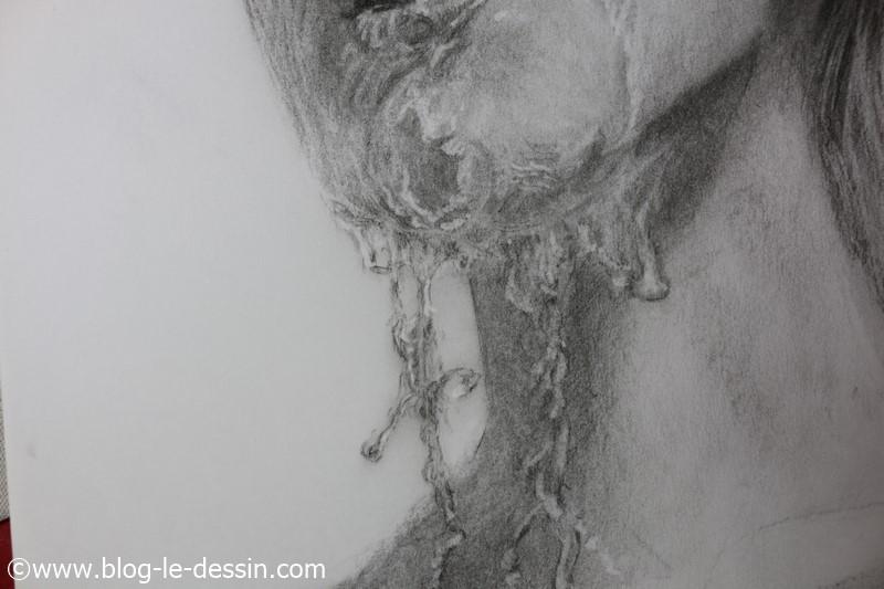 image eau dessine portrait visage