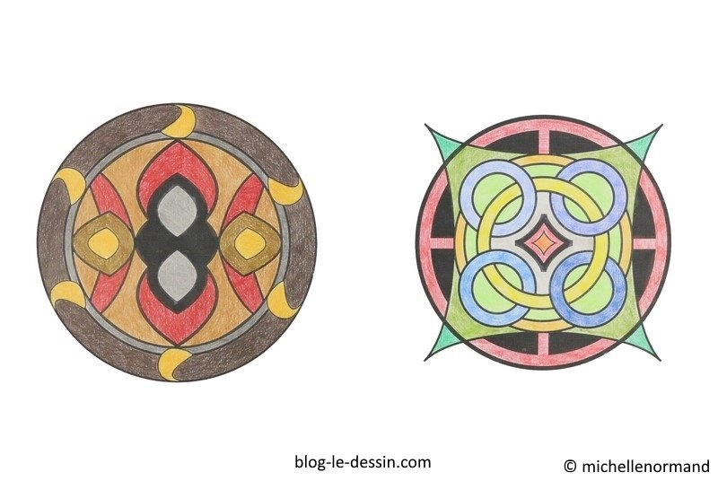 Faire un coloriage anti-stress, coloriage mandala, coloriage adulte, coloriage rosaces