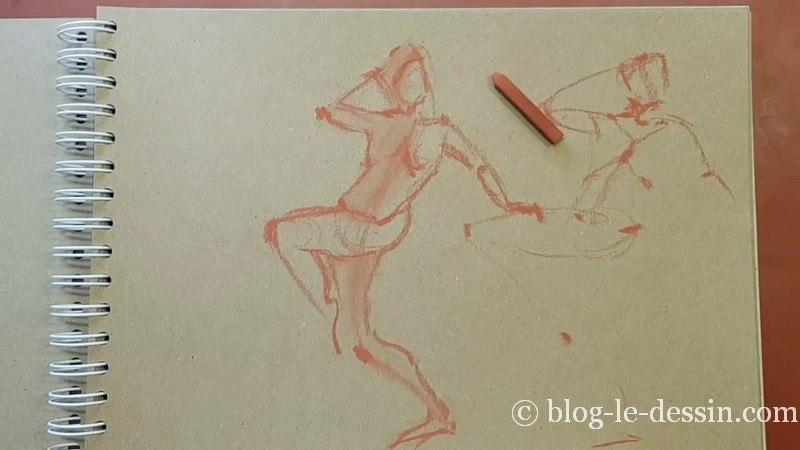 planche finale dessin sanguine