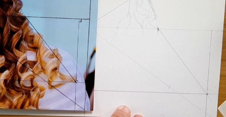 dessiner aux proportions parfaites avec la méthode de l'étoile
