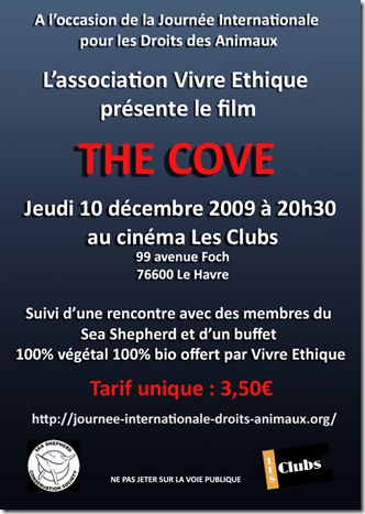 the cove flyer Le Havre