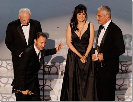 The Cove récompensé par l'Oscar du meilleur documenaire - Photo de la cérémonie des Oscar 2010