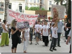 Marche de Hyères contre les massacres de dauphins aux îles Féroé (12 juin 2010)