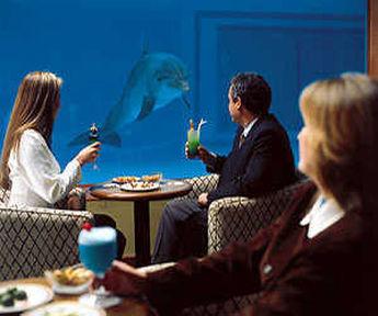 Le casino de l'hôtel Los Delfines à Lima