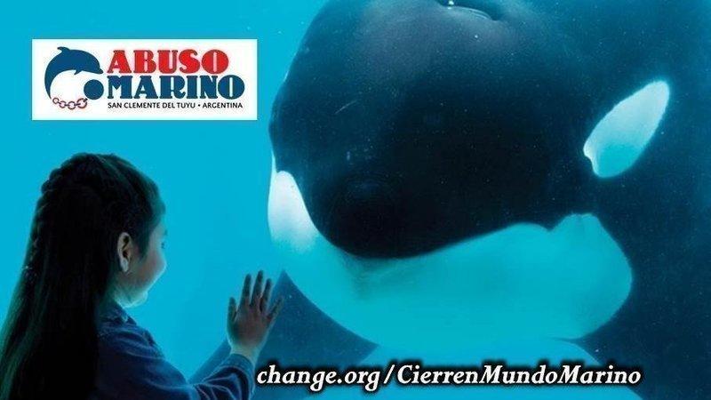 Online petition - Cierren Mundo Marino