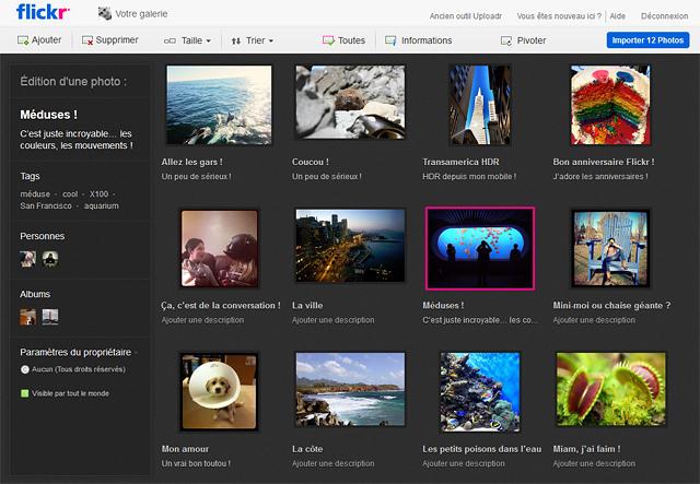flickr passe au html5 et permet lupload de fichier de 50 mo 2 Flickr passe au HTML5 et permet lupload de fichier de 50 Mo