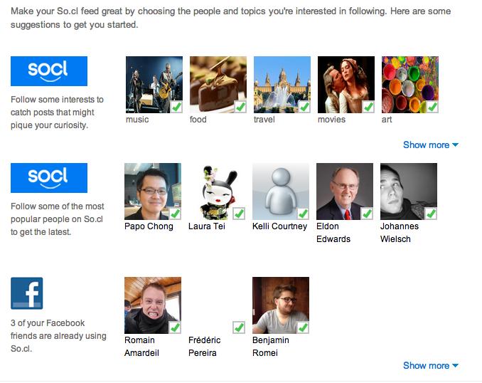 Le réseau social de Microsoft, So.cl, n'est plus destiné seulement aux étudiants - Suivre des intérêts et des utilisateurs populaires de So.cl