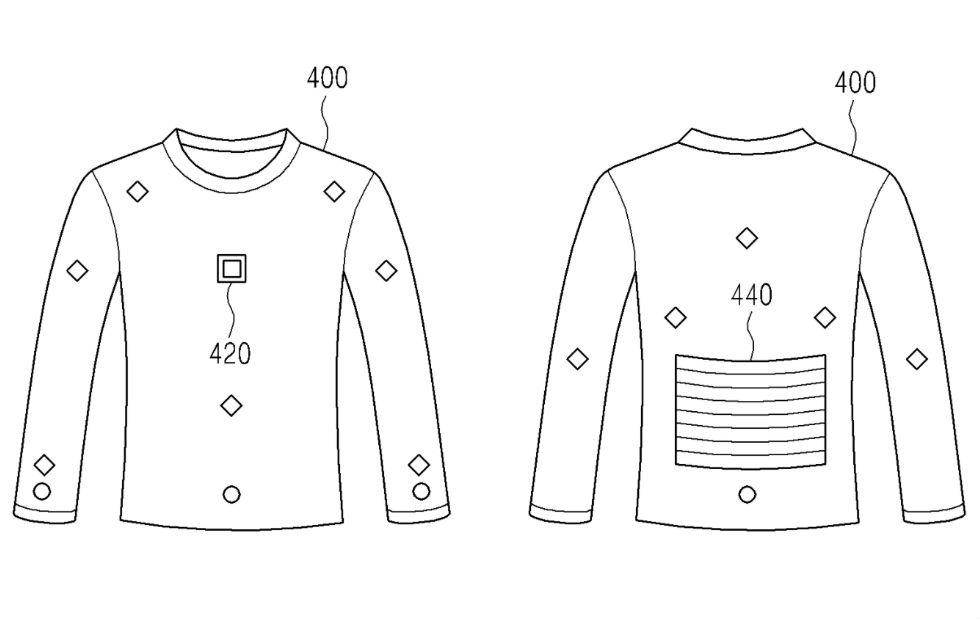 Samsung brevète des vêtements connectés pour charger votre