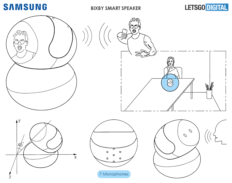 Quelques détails sur l'enceinte connectée Bixby de Samsung