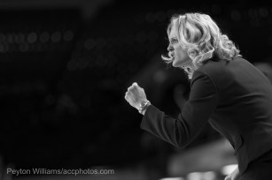 Coach Harper was fiercely competitive. She rarely sat on the bench to watch a game.