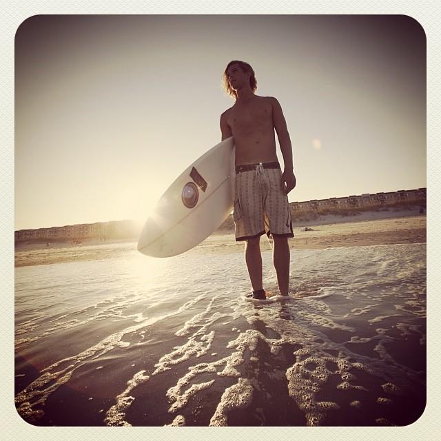 Nic Tudor, surfer