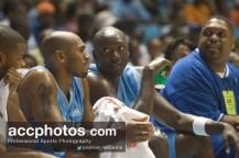 Makthar Ndiaye talks with Jerry Stackhouse